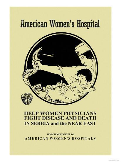 American Women's Hospital- Ruotolo-Art Print