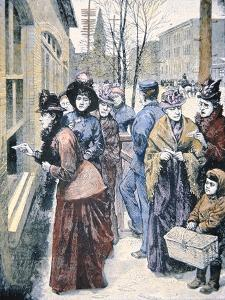 Women's Suffrage in the Usa: Women Voting in the Wyoming Territory after Winning That Right in 1869 by American