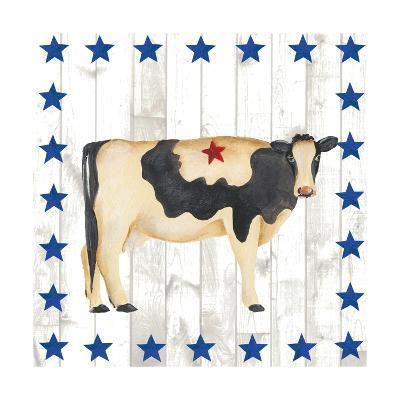 Americana Animals III-Regina Moore-Art Print