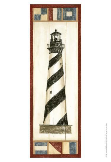 Americana Lighthouse II-Ethan Harper-Art Print