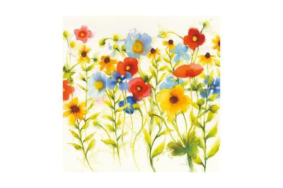 Americana Meadow I Crop-Shirley Novak-Art Print