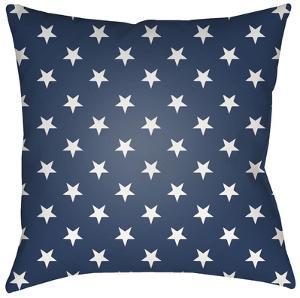 Americana Pillow - Blue