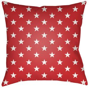 Americana Pillow - Red