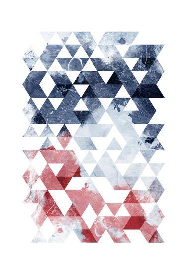 Americana Triangles Too-OnRei-Art Print
