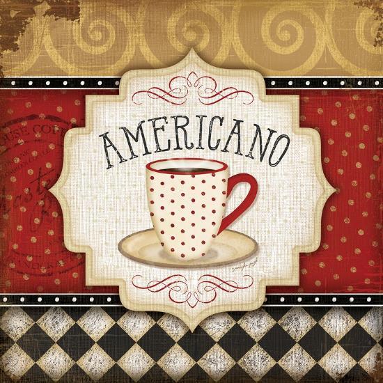 Americano-Jennifer Pugh-Art Print