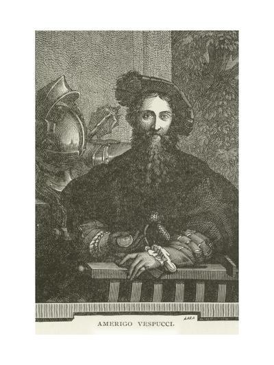Amerigo Vespucci--Giclee Print