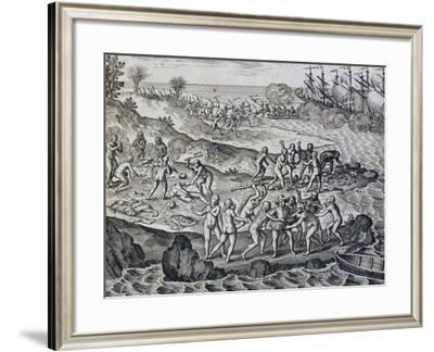 Amerigo Vespucci--Framed Giclee Print