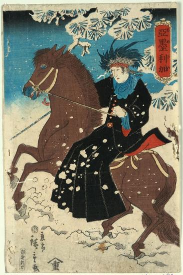 Amerika-Utagawa Hiroshige-Giclee Print