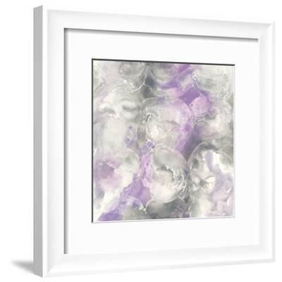 Amethyst Circles I-Chris Paschke-Framed Art Print