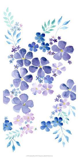 Amethystine Blooms III-Regina Moore-Art Print