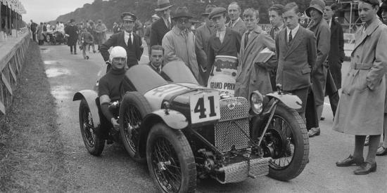 Amilcar of Goldie Gardner at the Irish Grand Prix, Phoenix Park, Dublin, 1930-Bill Brunell-Photographic Print