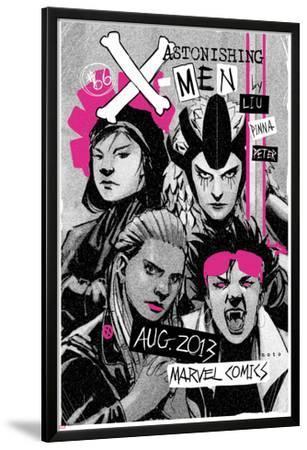 Astonishing X-Men #66 Cover: Jubilee, Warbird, Karma, Reyes, Cecilia