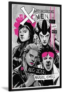 Astonishing X-Men #66 Cover: Jubilee, Warbird, Karma, Reyes, Cecilia by Amilcar Pinna