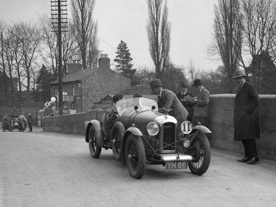 Amilcar Standard Sports at the Ilkley & District Motor Club Trial, Thirsk, Yorkshire, 1930s-Bill Brunell-Photographic Print