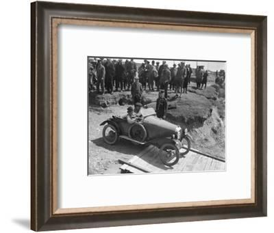 Amilcar Type CC Petit Sport at the Porthcawl Speed Trials, Wales, 1922-Bill Brunell-Framed Photographic Print