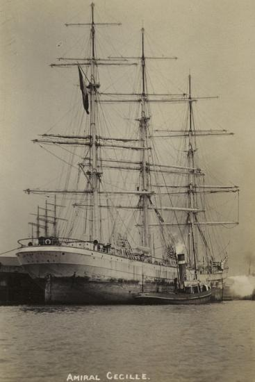 Amiral Cecille, French Bounty Ship--Photographic Print
