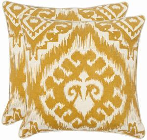 Amiri Pillow Pair - Saffron 18""