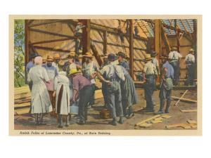 Amish Folks, Lancaster County, Pennsylvania