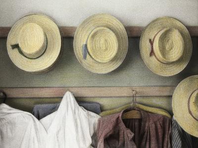 Amish Study No.18-Kim Koza-Photographic Print