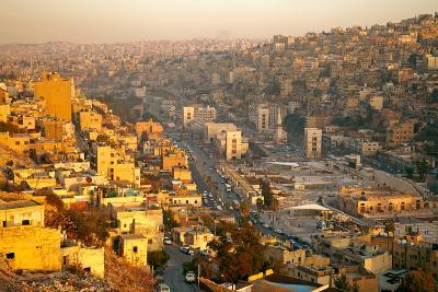 Amman - Capital of Jordan-silver-john-Photographic Print