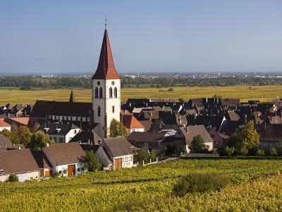 Ammerschwihr, Alsatian Wine Route, Alsace Region, Haut-Rhin, France-Walter Bibikow-Photographic Print