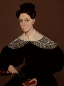 Mrs. Cox, circa 1836 by Ammi Phillips