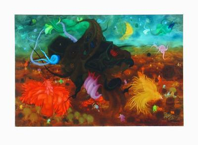Among Birds-Erich Brauer-Collectable Print