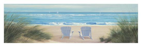 Among Friends II Panel-Diane Romanello-Art Print