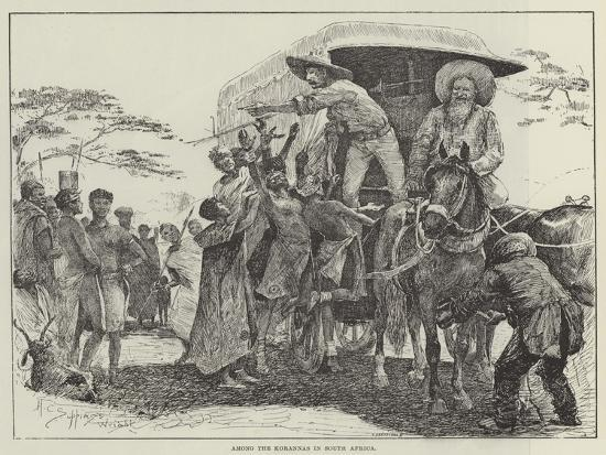 Among the Korannas in South Africa-Henry Charles Seppings Wright-Giclee Print