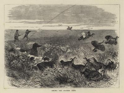Among the Prairie Hens-Harrison William Weir-Giclee Print