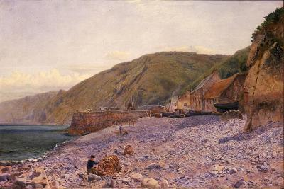 Among the Shingle at Clovelly, 1864-Charles Napier Hemy-Giclee Print