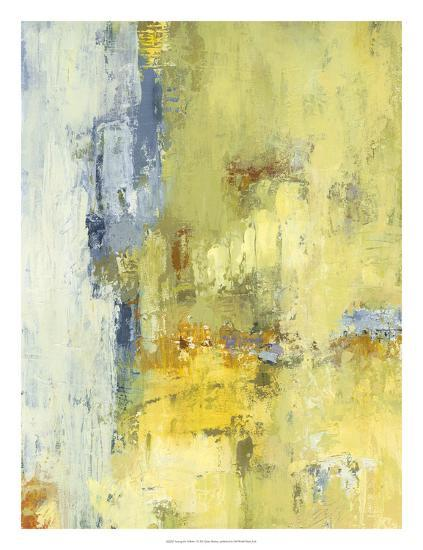 Among the Yellows I-Janet Bothne-Premium Giclee Print