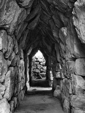 Amongst the Ruins of Tirynth, Greece, 1937-Martin Hurlimann-Giclee Print