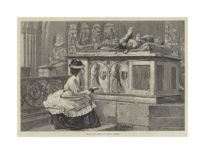 Amongst the Tombs-Claude Andrew Calthrop-Giclee Print