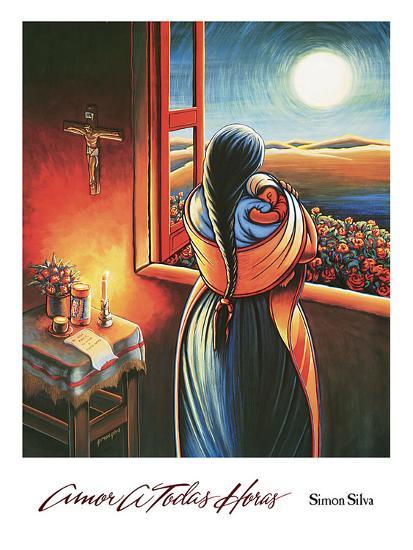 Amor a Todas Horas-Simon Silva-Art Print