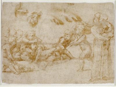 Amorini at Play-Raphael-Giclee Print