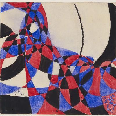 Amorpha Fugue in Two Colors III-Frantisek Kupka-Giclee Print