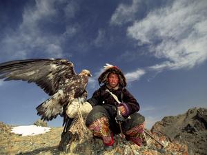 Kook Kook is from Altai Sum, Golden Eagle Festival, Mongolia by Amos Nachoum