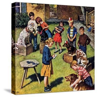 """""""Backyard Dog Show"""", July 8, 1950"""