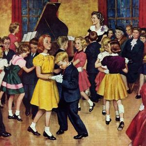 """Dance Cotillion"", April 28, 1951 by Amos Sewell"
