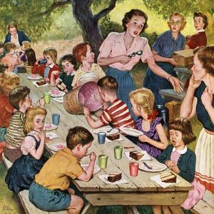 """""""Out of Ice Cream"""", June 27, 1953 by Amos Sewell"""