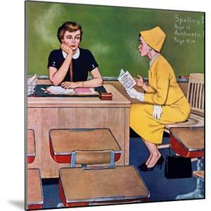 """""""Parent - Teacher Conference"""", December 12, 1959 by Amos Sewell"""