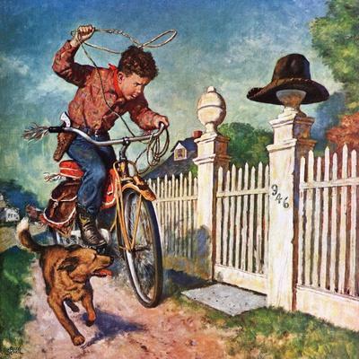 """Playing Cowboy"", June 23, 1951"