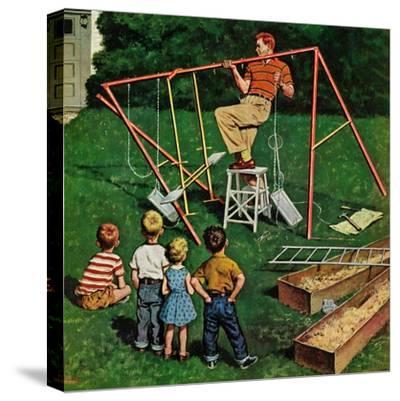 """Swing-set"", June 16, 1956"