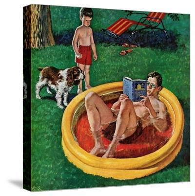 """""""Wading Pool"""", August 27, 1955"""