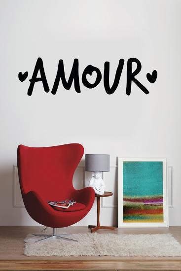 Amour--Wall Decal