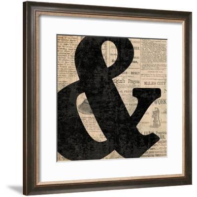 Ampersand-N. Harbick-Framed Art Print