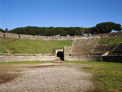 Amphitheater, Pompeii, Italy--Giclee Print