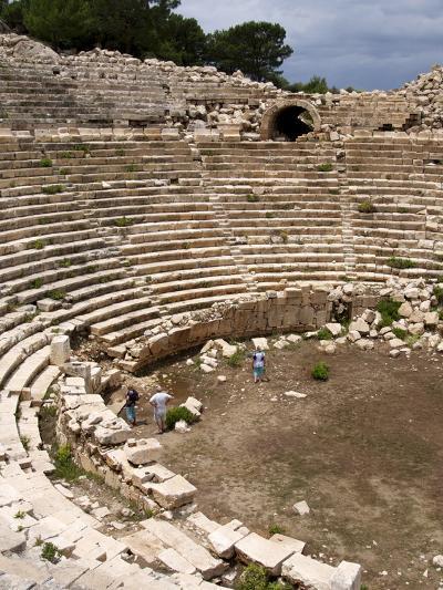 Amphitheatre at the Lycian Site of Patara, Near Kalkan, Antalya Province, Anatolia, Turkey--Photographic Print