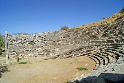 Amphitheatre, Letoon, Turkey--Photographic Print